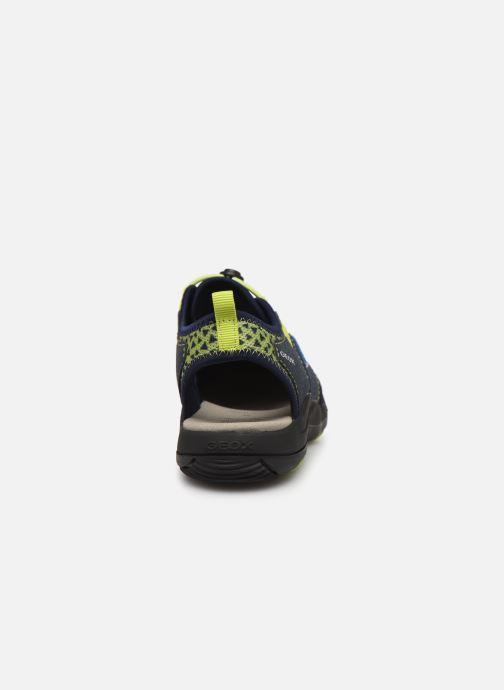 Sandales et nu-pieds Geox Jr Sandal Kyle J92E1B Bleu vue droite