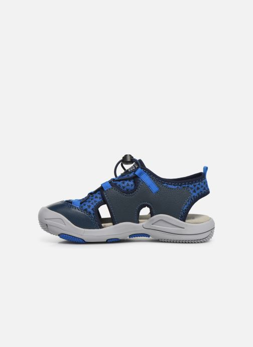 Sandali e scarpe aperte Geox Jr Sandal Kyle J92E1B Azzurro immagine frontale