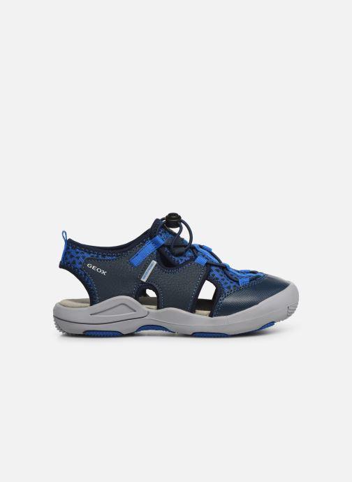 Sandales et nu-pieds Geox Jr Sandal Kyle J92E1B Bleu vue derrière