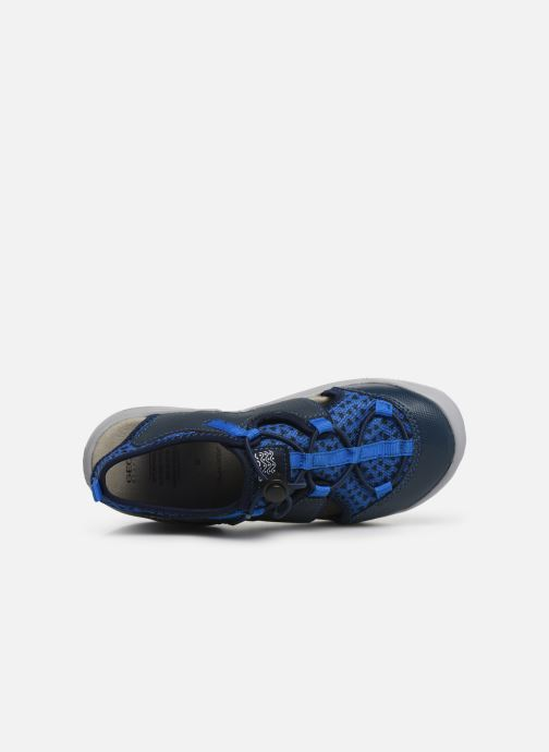 Sandales et nu-pieds Geox Jr Sandal Kyle J92E1B Bleu vue gauche