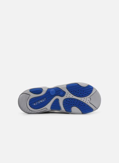 Sandales et nu-pieds Geox Jr Sandal Kyle J92E1B Bleu vue haut