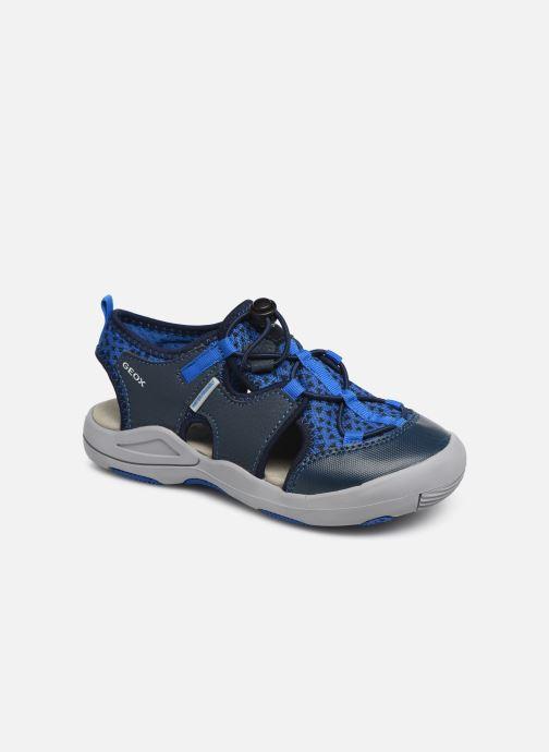 Sandaler Geox Jr Sandal Kyle J92E1B Blå detaljeret billede af skoene