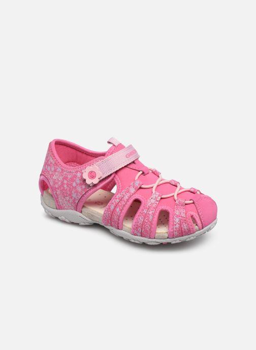 Sandales et nu-pieds Geox Jr Sandal Roxanne J92D9B Rose vue détail/paire