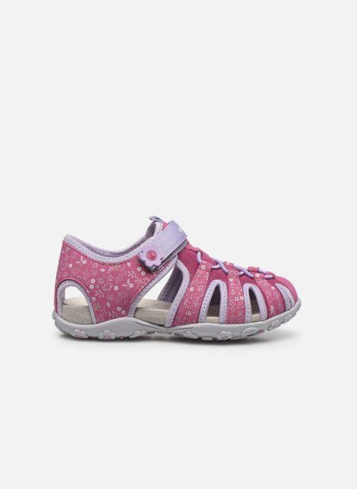 Sandali e scarpe aperte Geox Jr Sandal Roxanne J92D9B Rosa immagine posteriore