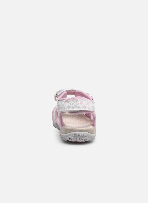 Sandals Geox Jr Sandal Roxanne J92D9C Pink view from the right