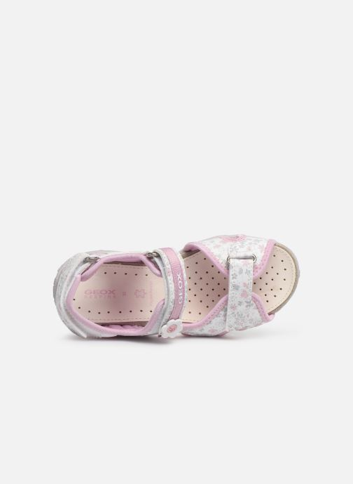 Sandals Geox Jr Sandal Roxanne J92D9C Pink view from the left