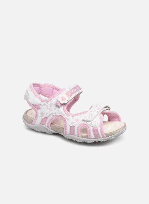 Sandales et nu-pieds Geox Jr Sandal Roxanne J92D9C Rose vue détail/paire