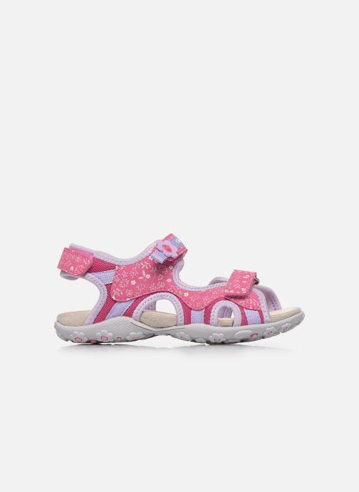 Sandali e scarpe aperte Geox Jr Sandal Roxanne J92D9C Rosa immagine posteriore