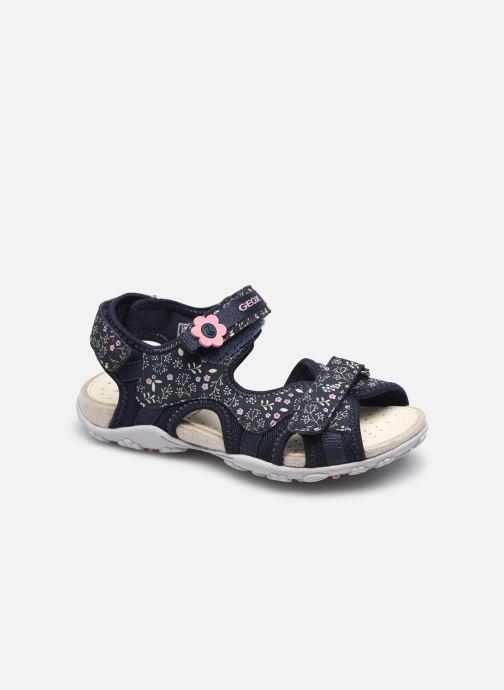Sandales et nu-pieds Geox Jr Sandal Roxanne J92D9C Bleu vue détail/paire