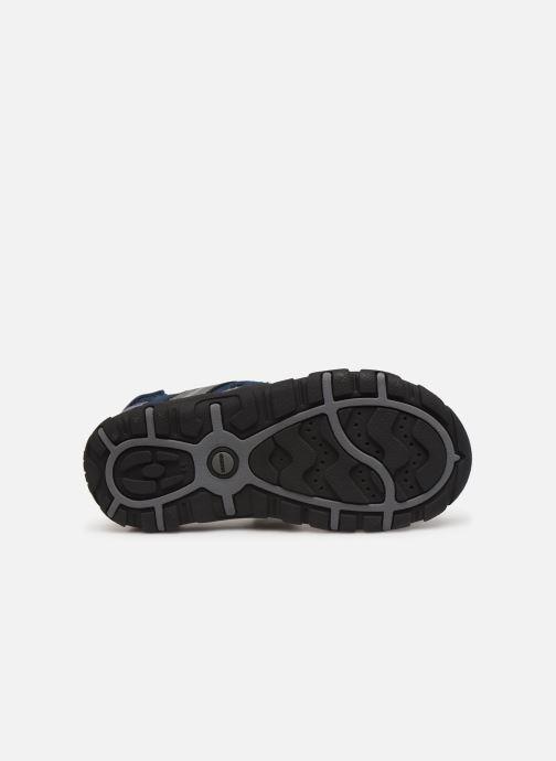 Sandales et nu-pieds Geox Jr Sandal Strada J9224A Bleu vue haut