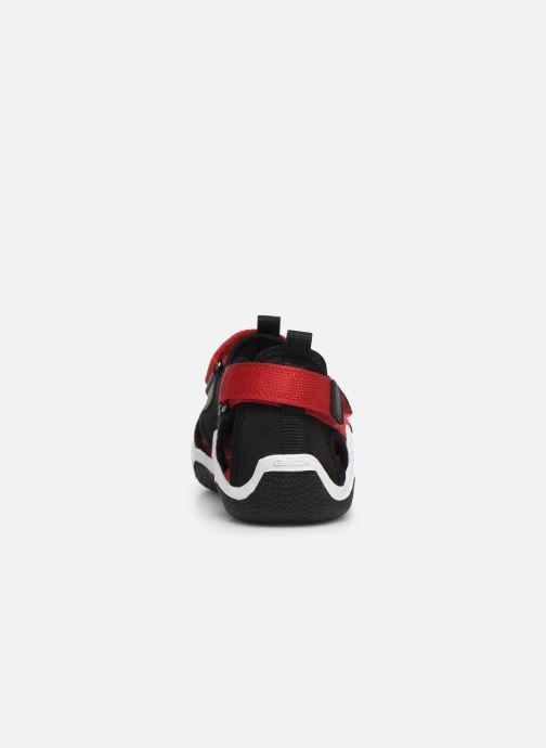 Sandales et nu-pieds Geox Jr Wader J9230A Noir vue droite