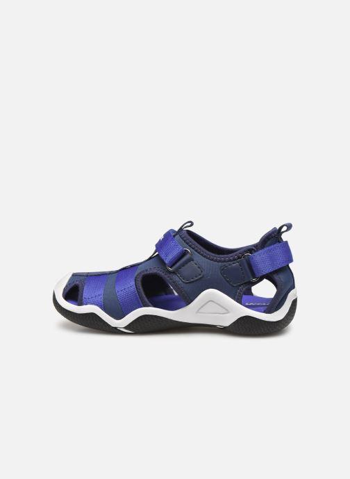 Sandalen Geox Jr Wader J9230A blau ansicht von vorne