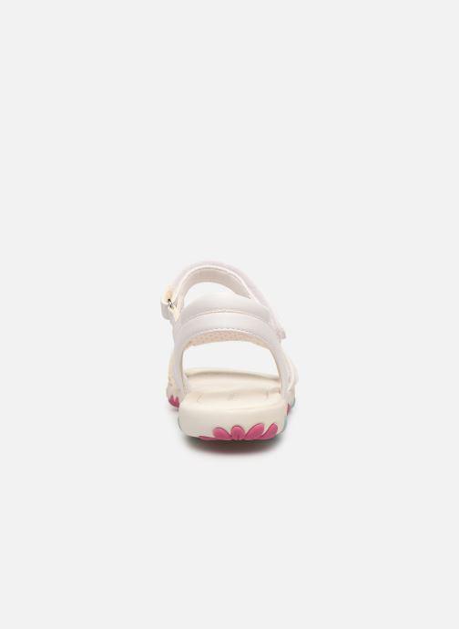 Sandales et nu-pieds Geox J Sandal Haiti Girl J928ZD Blanc vue droite