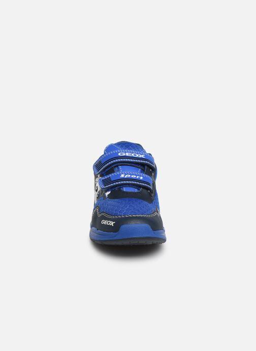 Trainers Geox J Dakin Boy J929FB Blue model view