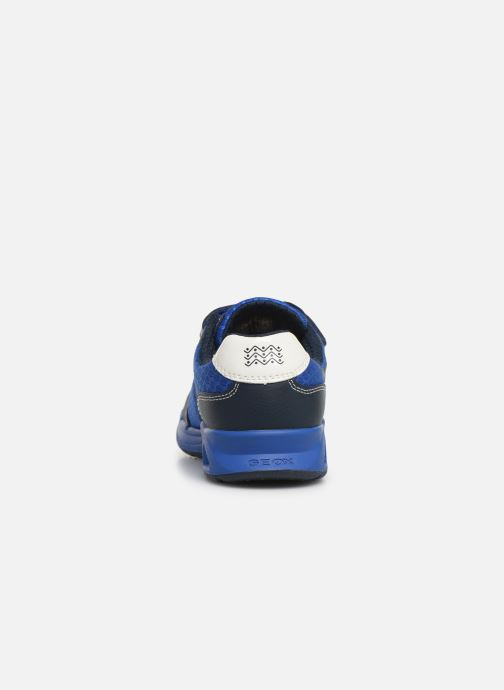 Trainers Geox J Dakin Boy J929FB Blue view from the right