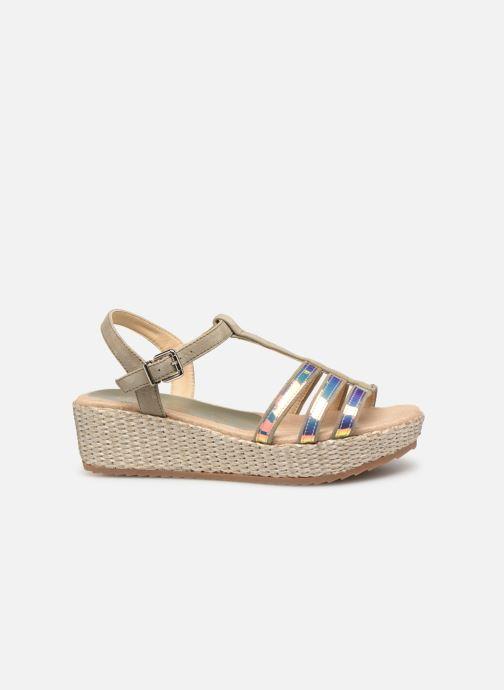 Sandales et nu-pieds Unisa Trova Or et bronze vue derrière