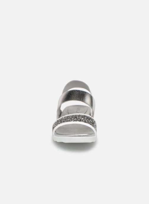 Sandali e scarpe aperte Unisa Kalo Argento modello indossato