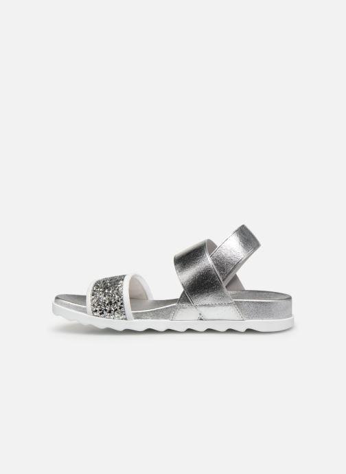 Sandales et nu-pieds Unisa Kalo Argent vue face