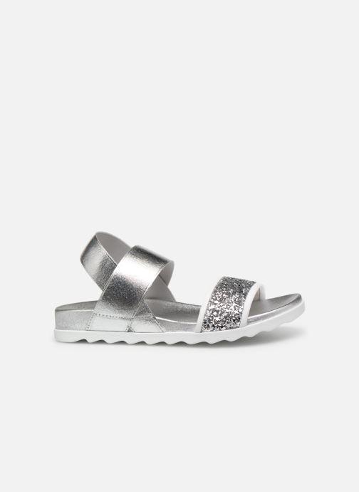 Sandales et nu-pieds Unisa Kalo Argent vue derrière
