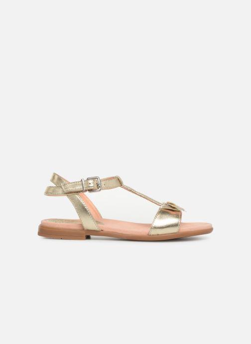 Sandaler Unisa Laso Bronze och Guld bild från baksidan