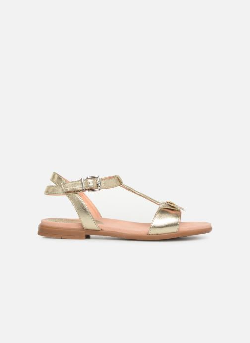 Sandals Unisa Laso Bronze and Gold back view
