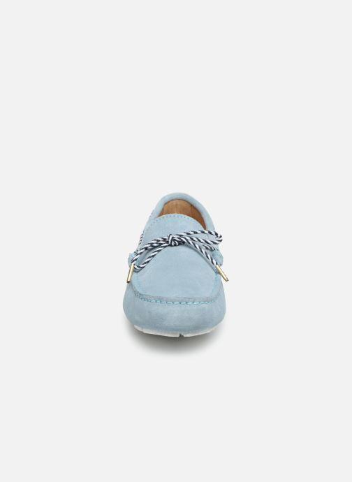 Mocassins Georgia Rose Stalilia Bleu vue portées chaussures