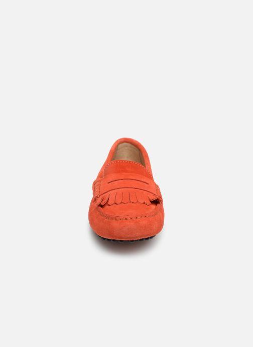 Mocassins Georgia Rose Shirine Orange vue portées chaussures