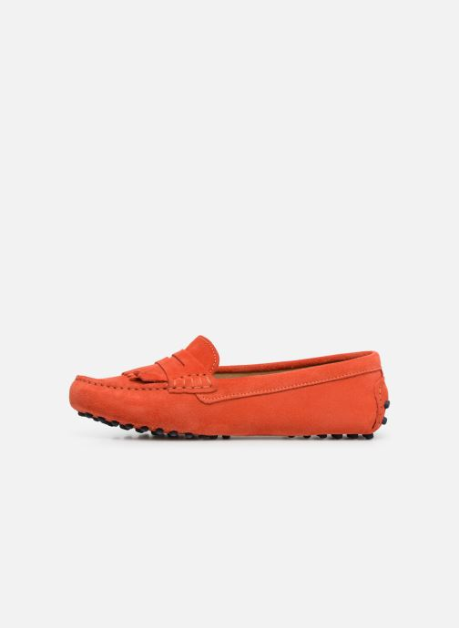 Mocassins Georgia Rose Shirine Orange vue face