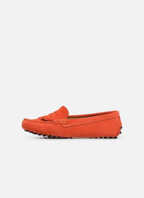 Loafers Georgia Rose Shirine Orange front view