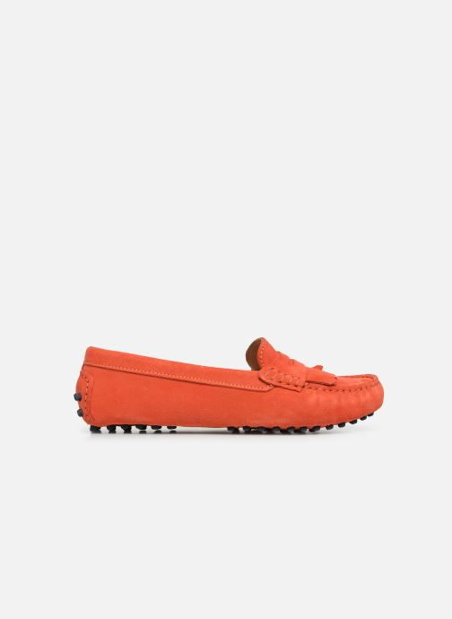 Mocasines Georgia Rose Shirine Naranja vistra trasera
