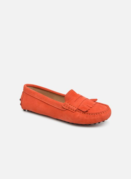 Mocassins Georgia Rose Shirine Orange vue détail/paire
