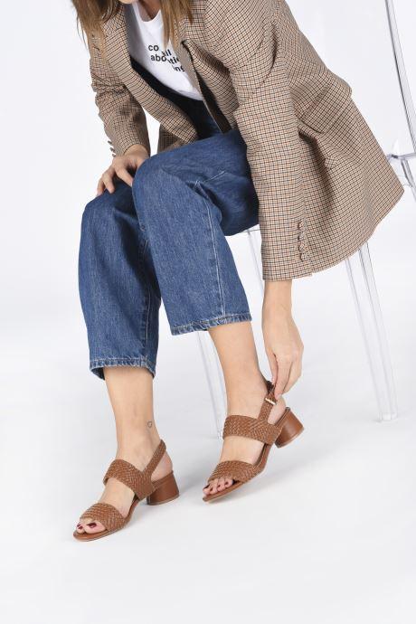 Sandales et nu-pieds I Love Shoes LOUKA Marron vue bas / vue portée sac