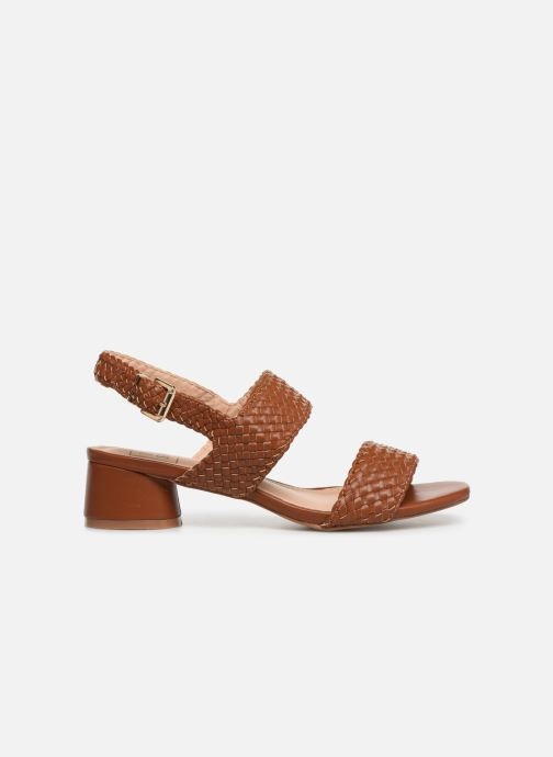 Sandals I Love Shoes LOUKA Brown back view