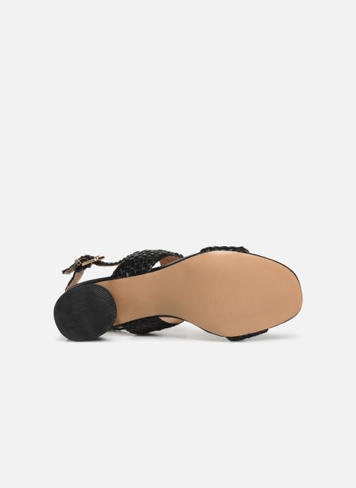 Sandales et nu-pieds I Love Shoes LOUKA Noir vue haut