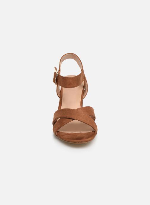 Sandales et nu-pieds I Love Shoes LOTTY Marron vue portées chaussures