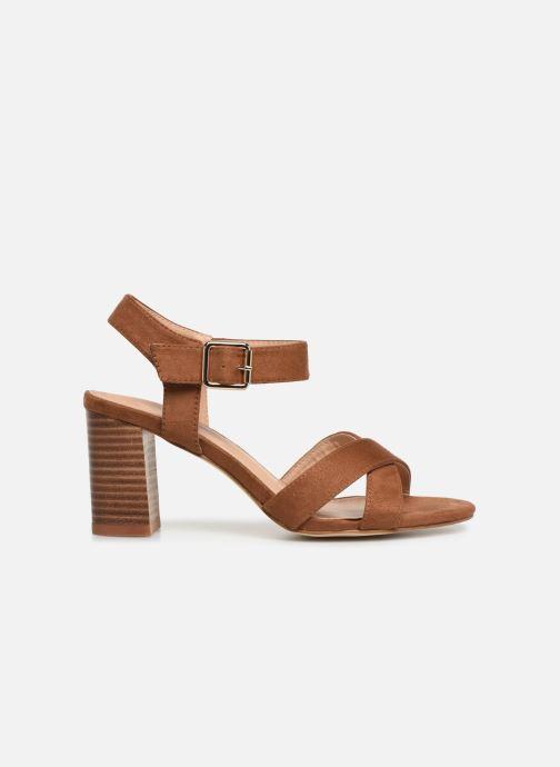 Sandales et nu-pieds I Love Shoes LOTTY Marron vue derrière