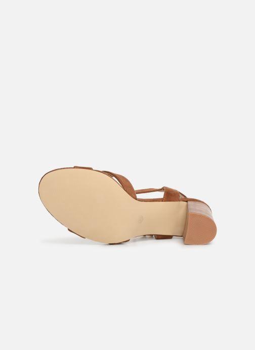 Sandales et nu-pieds I Love Shoes LOTTY Marron vue haut