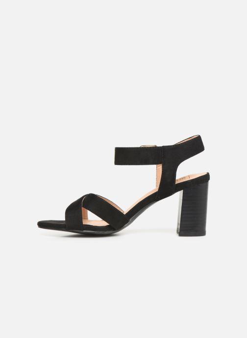Sandales et nu-pieds I Love Shoes LOTTY Noir vue face