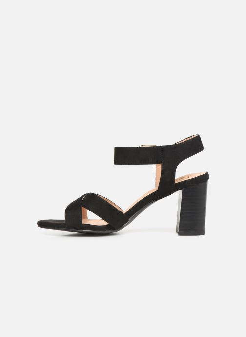 Sandalias I Love Shoes LOTTY Negro vista de frente