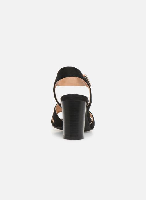 Sandales et nu-pieds I Love Shoes LOTTY Noir vue droite