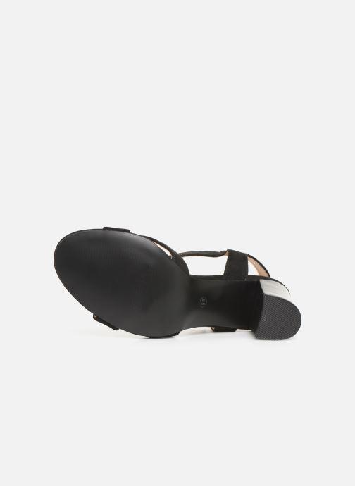 Sandales et nu-pieds I Love Shoes LOTTY Noir vue haut