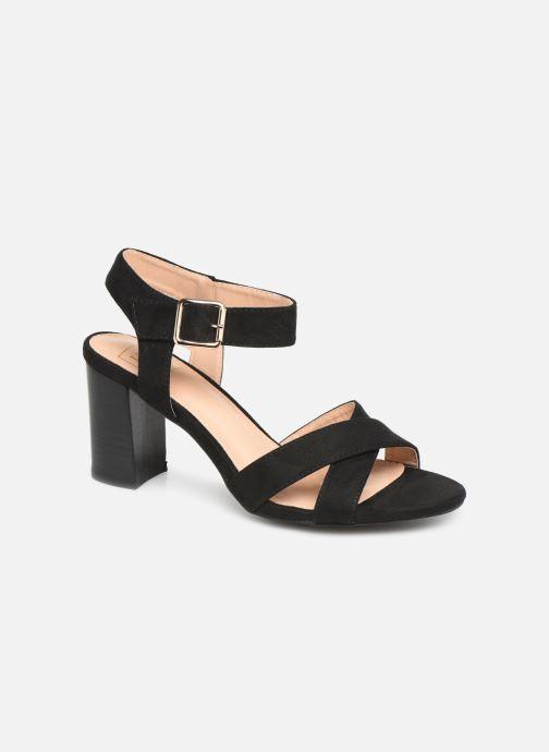 Sandales et nu-pieds I Love Shoes LOTTY Noir vue détail/paire