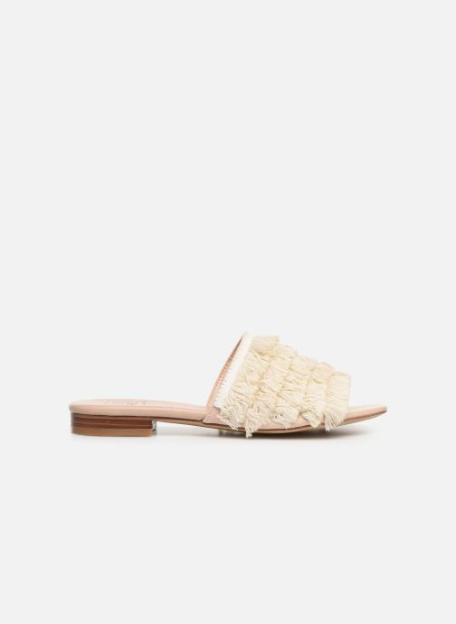 Zuecos I Love Shoes LOGANE Rosa vistra trasera