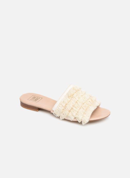 Zuecos I Love Shoes LOGANE Rosa vista de detalle / par