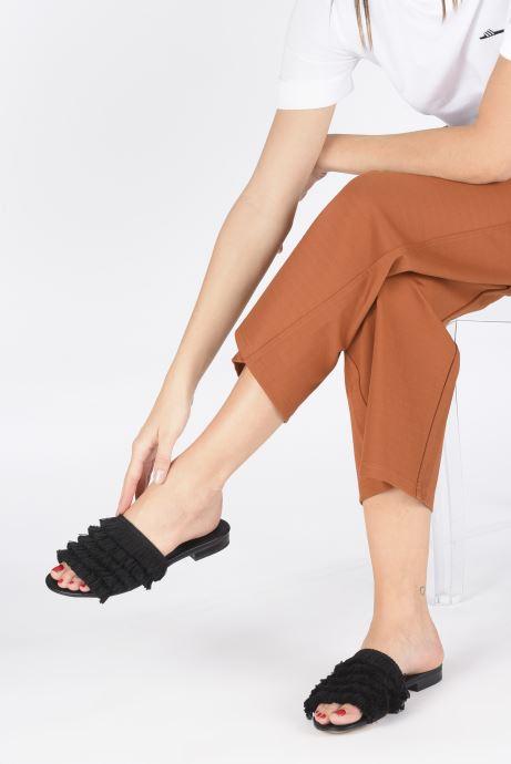 Mules et sabots I Love Shoes LOGANE Noir vue bas / vue portée sac