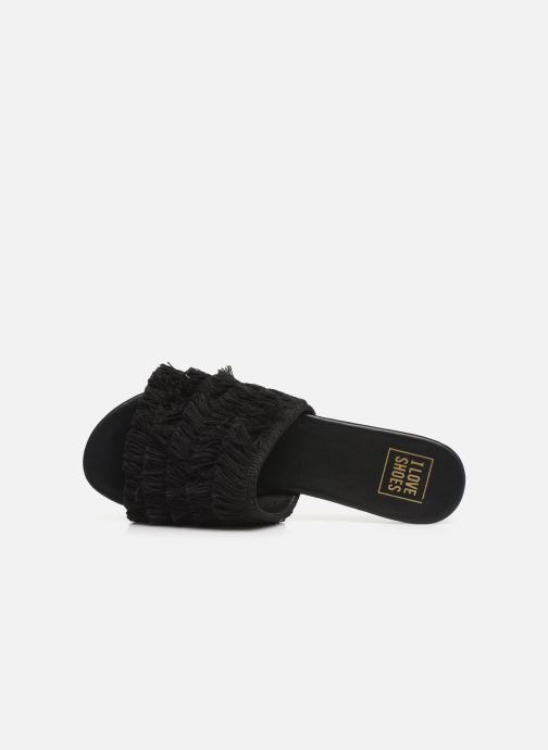 Mules et sabots I Love Shoes LOGANE Noir vue gauche