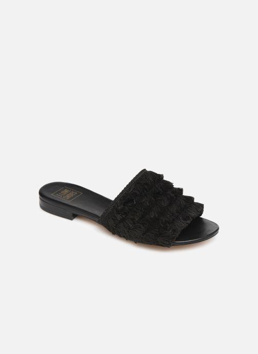 Zuecos I Love Shoes LOGANE Negro vista de detalle / par