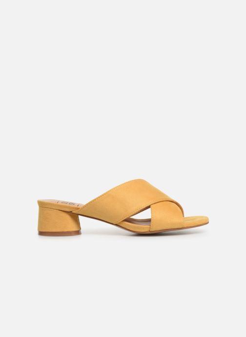 Mules et sabots I Love Shoes LONACI Jaune vue derrière