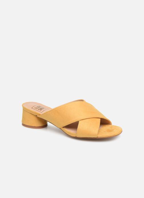 Mules et sabots I Love Shoes LONACI Jaune vue détail/paire