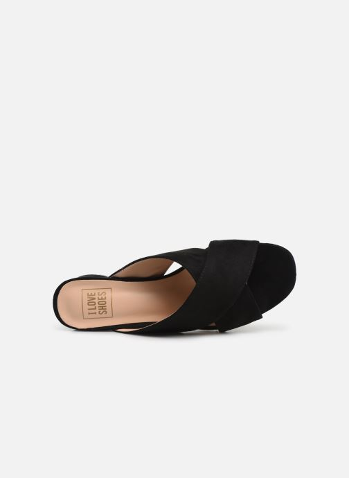 Mules et sabots I Love Shoes LONACI Noir vue gauche